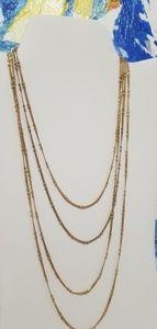 Vintage Goldtone 4 strand Necklace